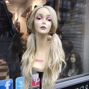 Accessories - Fullcap all blonde wear up or down STRAIGHT ONLY